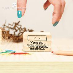 Sello cargado de buen rollo ;) www.shop.thegreatmoustache.com