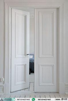 Desain Pintu Kamar Double Panel