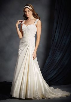 Alfred Angelo Signature Bridal Collection 2532 A-Line Wedding Dress