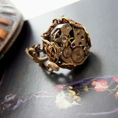 #1ofmykind.bigcartel.com  #ring                     #1ofmykind #Jewels #Jody #McGill #Keeping #Time #Steampunk #Ring- #SALE #$49                        1ofmykind Jewels by Jody McGill ? Keeping Time Steampunk Ring- SALE $49                             http://www.seapai.com/product.aspx?PID=127738