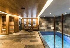 Chalet Chêne - Spa (piscine intérieure chauffée, hammam, sauna, salle de massage)