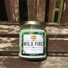 Wild Fire by MerakiCandles on Etsy https://www.etsy.com/uk/listing/465821091/wild-fire