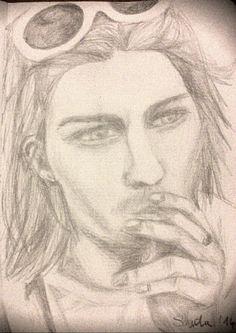 #kurtcobain #drawing