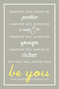 They Will Never Ever Be You  Customizable by SprinkledJoy on Etsy