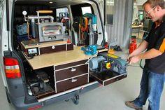 Fahrzeugeinrichtung Komplettausbau für den Hufschmied