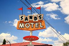 "Route 66 - Sands Motel, Grants, New Mexico. ""The Fine Art Photography of Frank Romeo."""