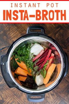 A good broth is a beautiful thing - a magical culinary elixir that extracts the hidden goodness from bones and other kitchen scraps. Food that would otherwise Healthy Foods To Make, Easy Healthy Recipes, Paleo Recipes, Food To Make, Healthy Eats, Best Pressure Cooker Recipes, Sweet Potato Slices, Slow Cooker Desserts, Food Science