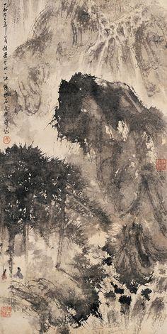 Fu Baoshi, ink and wash Fu Baoshi (Chinese: 傅抱石), or Fu Pao-Shih, (1904-1965) was a Chinese painter from Xinyu, Jiangxi Province.