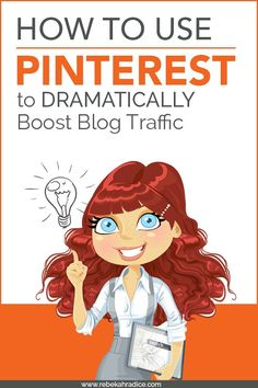 How to Use Pinterest to Dramatically Boost Blog Traffic Want to bring more traffic to your website? Learn how to use Pinterest for business. Visit http://pincrediblemarketing.com