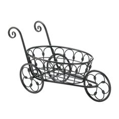 36 best plant stands images on pinterest plant stands gardens and Growing Organic Trays black iron flower cart