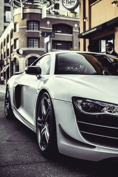 """Garagesocial.com: """"Performance engineered to its fullest"""" #audi #r8 #coupe"""
