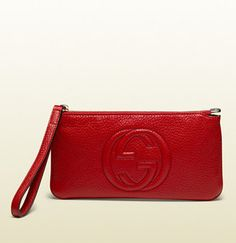 Gucci Soho leather wristlet - ShopStyle Bags 9a8f6865fddb