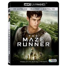Maze Runner[Includes 4K Ultra HD] (Blu-ray] [Digital HD Copy]