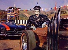Herman Munster in the Dragula