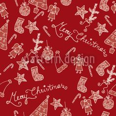 Merry Christmas designed by Martina Stadler available on patterndesigns.com