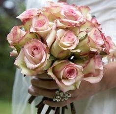 pink vintage wedding flowers