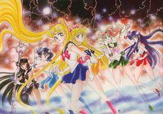 美少女戦士セーラームーン原画集 Bishoujo Senshi Sailor Moon Original Picture Collection Vol.2 by Naoko Takeuchi