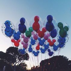 Pin for Later: You Should Absolutely Never Go to Disneyland — Here Are 21 Reasons There are balloons everywhere. What's with all the pretty balloons? Like, WTF.