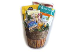 High Fiber gift basket. Great for those on heart-friendly diets!