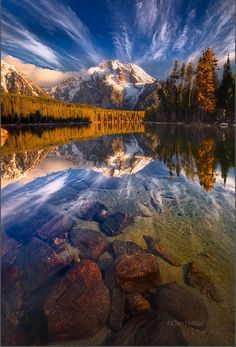 Leigh Lake, Grand Teton National Park - Furkl.Com