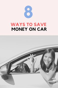 8 Ways to save money on car Ways To Save Money, How To Get Money, Money Tips, Money Saving Tips, Earn Money, Managing Money, Driving Class, Car Cost, Money Saving Challenge