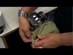 Brother™ Multi-Needle Embroidery: Entrepreneur® Pro PR1000e Cap Hoop - YouTube