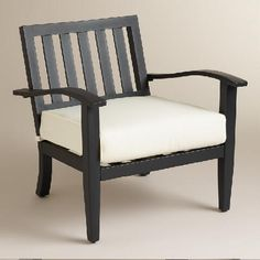 Saranda Occasional Armchair with Cushion | World Market