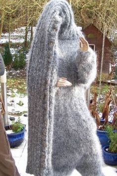 Streetwear Fashion, Streetwear Brands, Gros Pull Mohair, Wear Store, Mohair Sweater, Catsuit, Chunky Knits, Stylish Outfits, Winter Outfits