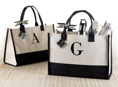 welcome bags for destination or out-of-town wedding guests. #gifts