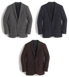 Steal Alert: 50% off J. Crews Partially Constructed Tweed Blazers  Ludlow Blazer in Grey Navy or Brown Tweed  $149 w/ GOSHOP  NOTE: These are regularly $298 and currently half off thanks to a rare but limited 50% off deal. Also note that they arent final sale at post time. Code expires tomorrow 1/18/17.  True were now in the winter doldrums and thats when people usually start turning an eye towards spring. But much of the country is stuck in a deep freeze and temps warm enough to prevent…
