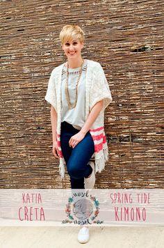Craft Lovers ♥ Kimono primaveral con Katia Creta por @waselwasel   http://www.katia.com/blog/es/craft-lovers-kimono-primaveral-wasel-wasel/