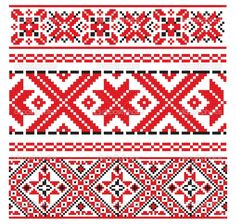 Stock Photos and Royalty Free Images from Stock Photography Ukrainian Tattoo, Ukrainian Art, Folk Embroidery, Embroidery Patterns, Cross Stitch Patterns, Cruces Tattoo, Vintage Floral Wallpapers, Band Tattoo, Bead Crochet Rope