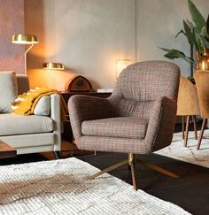 Our Robusto lounge chair is a perfect crossover between a grandfather chair and a modern lounge chair. Robusto is one of those lounge chairs that are able to turn a house into a home. Living Furniture, Bed Furniture, Living Room Chairs, Tartan Chair, Eames Chairs, Lounge Chairs, Side Chairs, Dining Chairs, Painted Chairs