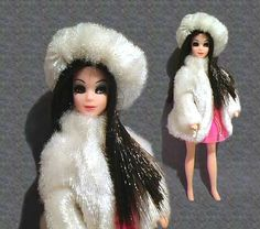 angie was first doll with dark hair like me when i was little