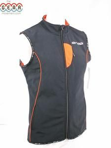 Orca Mens Medium Off Road Action Cycling Running Triathlon Vest  Black Orange Road Bike 58a1c9df9