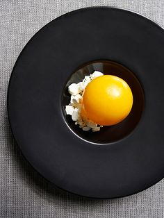 © Signe Birck. Dish by chef Søren Selin at AOC. Exclusive interview with the photographer here: http://theartofplating.com/editorial/spotlight-photographer-signe-birck/