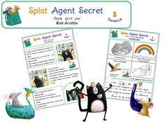 5ème période : Splat Agent Secret Splat Le Chat, Grande Section, Comprehension, The Secret, Reading, Cycle 2, Mai, Album, Education