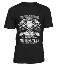 I Am A Biker  #gift #idea #shirt #image #funny #motorcycle #biker #beautiful #giftfordad #giftforhusband #mentee