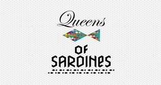 queens of sardines logo @sardinequeens