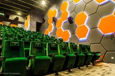 Cinepax Lahore cinema  by Architects Inc., Lahore - Pakistan. Visit City Lighting Products! https://www.linkedin.com/company/city-lighting-products