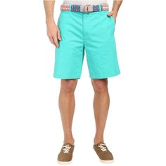 Vineyard Vines 9 Classic Summer Club Shorts (Aquinnah Aqua) Men's... ($45) ❤ liked on Polyvore featuring men's fashion, men's clothing, men's shorts, blue, mens blue shorts, men's apparel, mens shorts, mens summer shorts and mens clothing