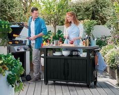 Host large outdoor parties or intimate get-togethers with the Keter Unity XL BBQ Entertainment Storage Table and Prep Station . Outdoor Oven, Outdoor Cooking, Outdoor Entertaining, Outdoor Tables, Indoor Outdoor, Outdoor Living, Outdoor Decor, Outdoor Stuff, Outdoor Grilling