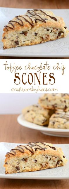 Recipe for yummy toffee chocolate chip scones. Loaded with chocolate chips and t Recipe for yummy toffee chocolate chip scones. Loaded with chocolate chips and toffee these are some of the most decadent scones you will ever eat! Source by cleanscentsible Chocolate Toffee, Chocolate Chips, Chocolate Cookies, Quick Chocolate Desserts, Chocolate Chip Biscuits, Melted Chocolate, Chocolate Brownies, Just Desserts, Dessert Recipes