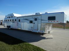 Extremely nice 2015 4-Star 6H w/ a 14′ Trail Boss LQ,  Rob King @ Murphy Trailer Sales (765) 366-5866