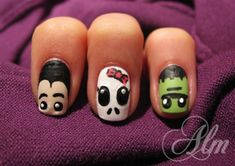 Halloween ❣ - Nail Art Gallery by NAILS Magazine
