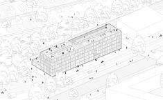Blok Y in Utrecht - Weitere Superlofts von Marc Koehler umgesetzt Architecture Drawing Art, Architecture Board, Landscape Architecture, Architecture Design, Utrecht, Haus Am Hang, Urban Analysis, Concept Diagram, Technical Drawing