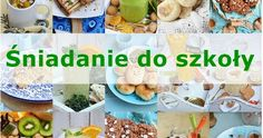 Śniadanie do szkoły Kids Meals, Clean Eating, Pizza, Mexican, Breakfast, Ethnic Recipes, Food, Morning Coffee, Eat Healthy