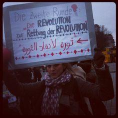 Die Zweite Runde - #tahrir in #berlin