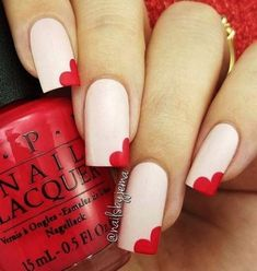 42 Easy Nail Art Designs The Goddess Easy Nail Art Designs Side Heart Step B. , 42 Easy Nail Art Designs The Goddess Easy Nail Art Designs Side Heart Step By Step Simple Tutorials For Beginners For Summer Fall Spring and Winter. Trendy Nail Art, Nail Art Diy, Easy Nail Art, Cool Nail Art, New Nail Designs, Simple Nail Art Designs, Nail Designs Spring, Pedicure Designs, Spring Design