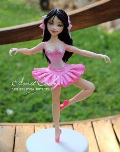 Ballerina+sculpted+sugar+dough+-+Cake+by+Nili+Limor+